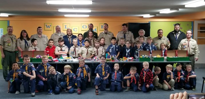 Pack 391 Cub Scouts & Leaders